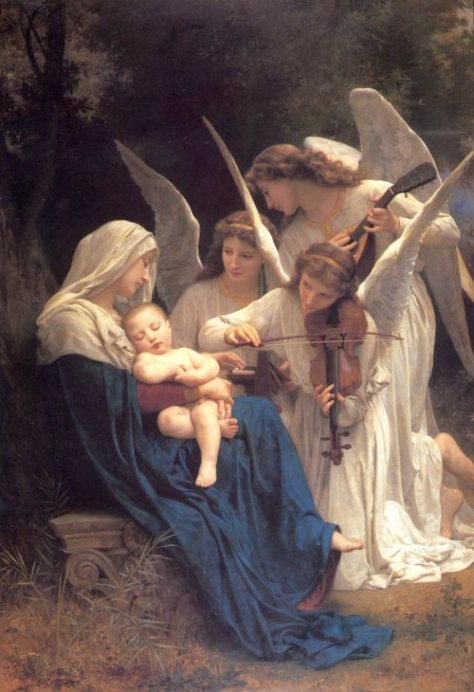 ™World Scripture for Daily Living ®all rights reserved by the Holy Spirit © Everlasting to Everlasting William-Bouguereau-MATER DEI
