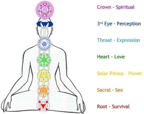 ™ Scripture for Daily Living - Interpreting Hindu Prayers and Meditations  the 7 chakras in the body -the symbols ''Right Nirvana'' 1.Crown Spatial,2.Right Thought 3. -Perception-, Right Sipirit, and Right Enery