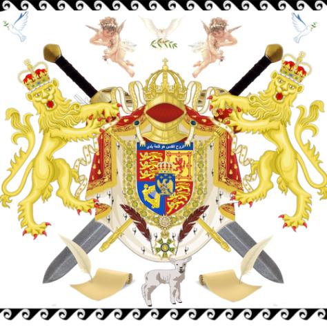 AGNVS DEI I - Coat of Arms of Prince Adagio