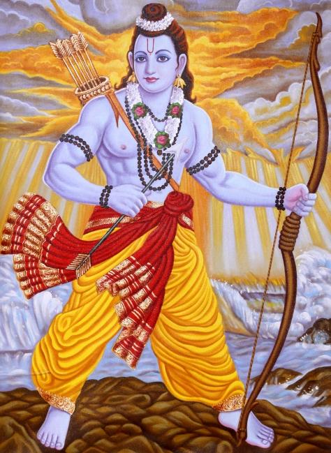 Lord Rama Krishna the destroyer of Evil men and fallen angelic men